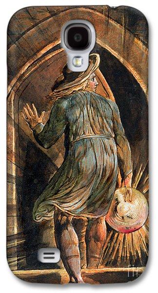 Frontispiece To Jerusalem Galaxy S4 Case by William Blake