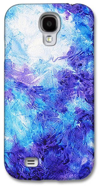 Frosted Blues Fantasy I Galaxy S4 Case