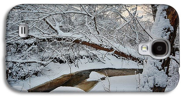 Frozen Creek Galaxy S4 Case by Sebastian Musial