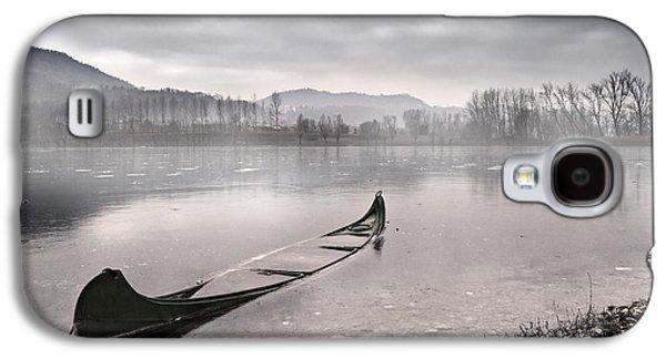 Boat Galaxy S4 Case - Frozen Day by Yuri Santin