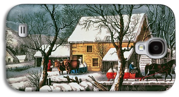 Frozen Up Galaxy S4 Case by Currier and Ives
