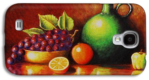 Fruit And Jug Galaxy S4 Case by Gene Gregory