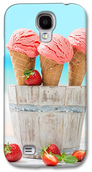 Fruit Ice Cream Galaxy S4 Case by Amanda Elwell
