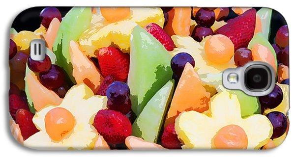 Fruit Kabobs Galaxy S4 Case by Cindy Singleton
