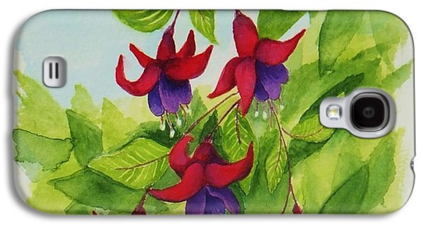 Fuchsias Galaxy S4 Case by Katherine Young-Beck