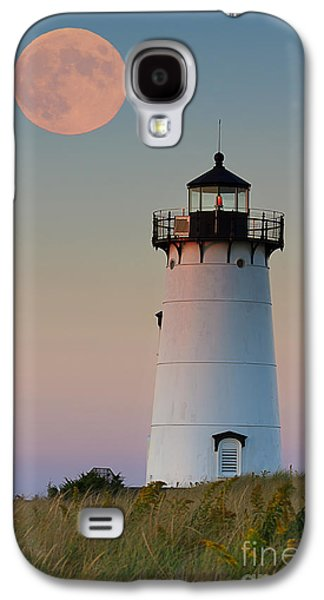 Full Moon Over Edgartown Lighthouse Galaxy S4 Case
