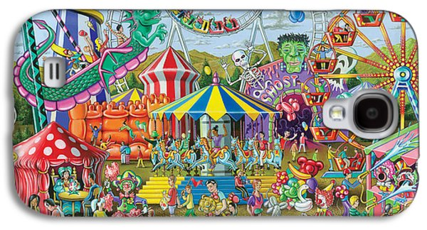 Fun At The Fairground Galaxy S4 Case by Mark Gregory