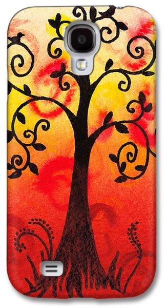 Fun Tree Of Life Impression IIi Galaxy S4 Case