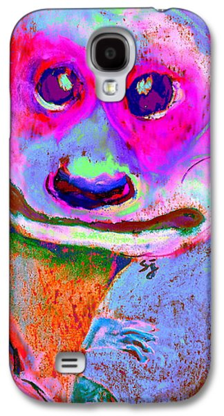 Funky Meerkat Tunnel Art Print Galaxy S4 Case