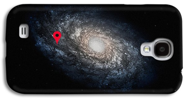 Funny Astronomy Universe  Nerd Geek Humor Galaxy S4 Case by Philipp Rietz