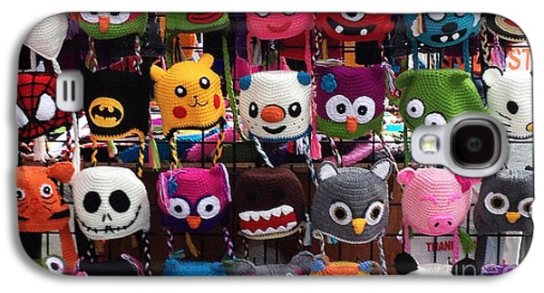 Funny Hats On The Street Galaxy S4 Case