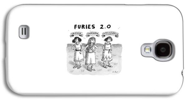 Furies 2.0 -- Ironia Galaxy S4 Case