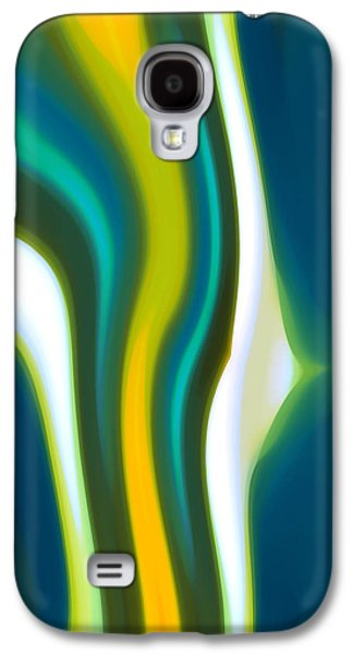 Abstract Tide 2 Galaxy S4 Case by Amy Vangsgard