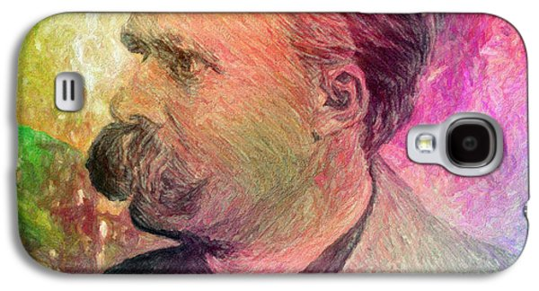F.w. Nietzsche Galaxy S4 Case