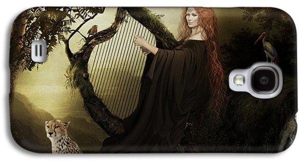Gaia Greek Goddess Galaxy S4 Case by Shanina Conway