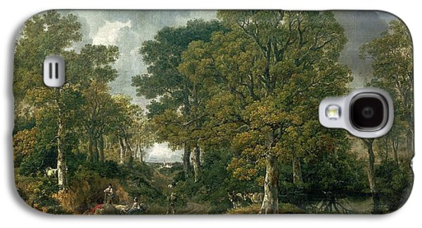 Gainsboroughs Forest Cornard Wood, C.1748 Oil On Canvas Galaxy S4 Case by Thomas Gainsborough