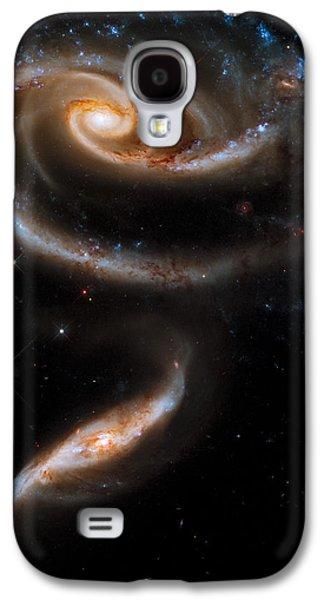 Galactic Rose Galaxy S4 Case by Adam Romanowicz