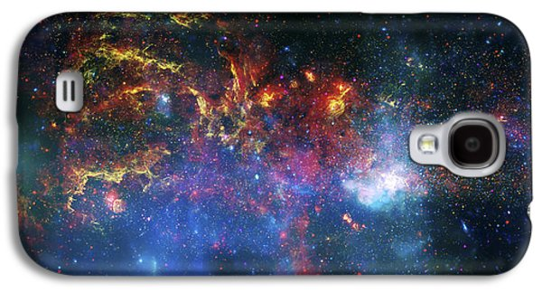 Galactic Storm Galaxy S4 Case by Jennifer Rondinelli Reilly - Fine Art Photography