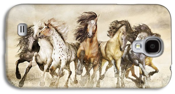 Galloping Horses Magnificent Seven Galaxy S4 Case