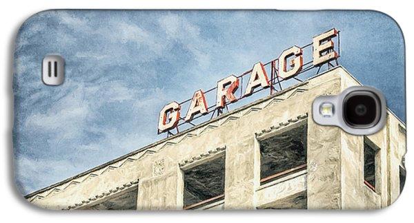 Minimalist Galaxy S4 Case - Garage by Scott Norris