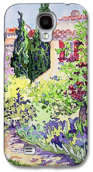 Garden At Vaison Galaxy S4 Case by Julia Gibson