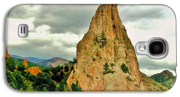 Garden Of The Gods Galaxy S4 Case by Marilyn Smith