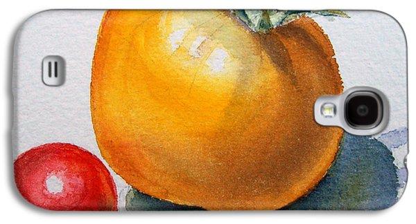 Garden Tomatoes Galaxy S4 Case by Irina Sztukowski