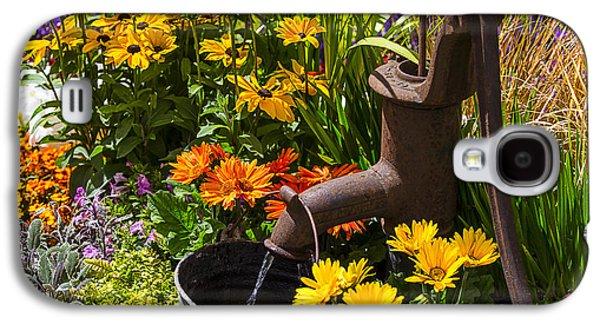 Garden Water Pump Galaxy S4 Case