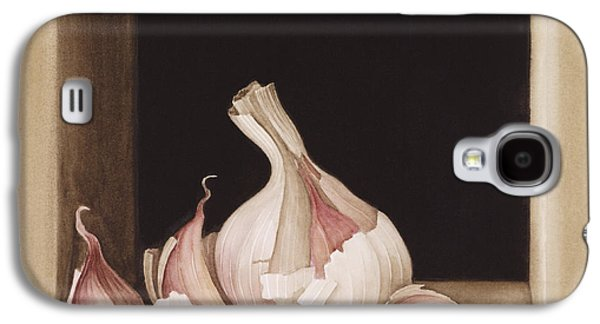 Garlic Galaxy S4 Case by Jenny Barron