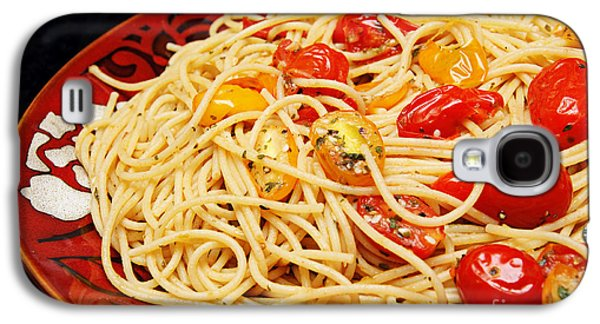 Garlic Pasta And Grape Tomatoes Galaxy S4 Case