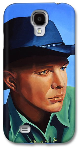 Saxophone Galaxy S4 Case - Garth Brooks by Paul Meijering