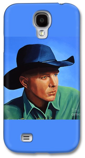 Garth Brooks Galaxy S4 Case by Paul Meijering