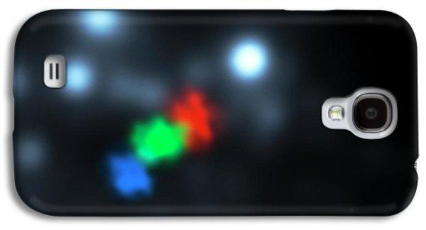 Gas Cloud-galactic Black Hole Approach Galaxy S4 Case