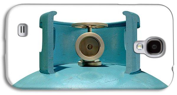 Gas Cylinder Valve Closeup Galaxy S4 Case by Allan Swart