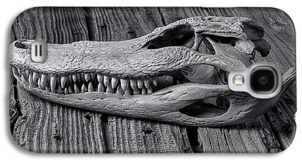 Gator Black And White Galaxy S4 Case