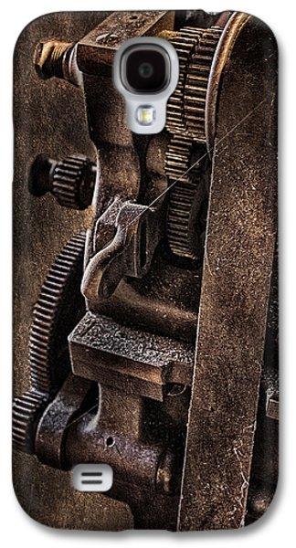 Gears And Pulley Galaxy S4 Case by Susan Candelario