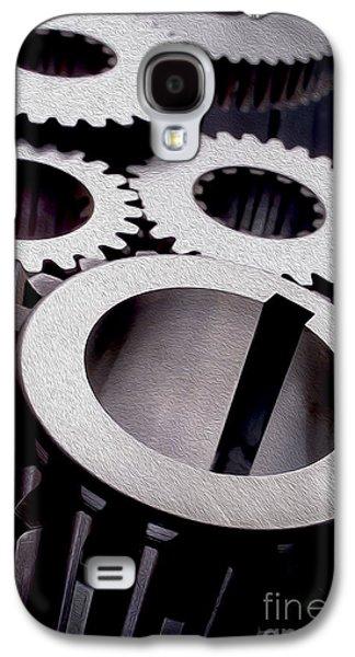 Gears Galaxy S4 Case by Jon Neidert
