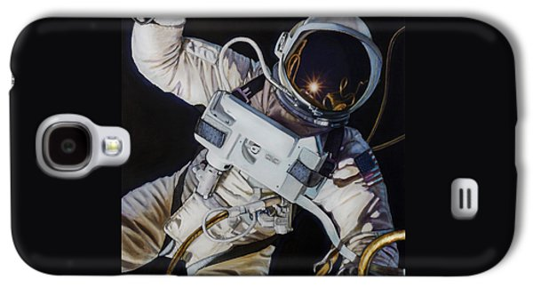 Gemini Iv- Ed White Galaxy S4 Case