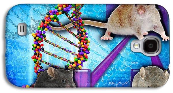 Gene Expression In Mice Galaxy S4 Case
