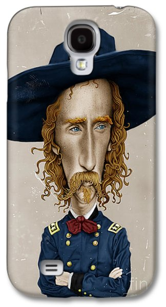 General George Custer Galaxy S4 Case by Andre Koekemoer