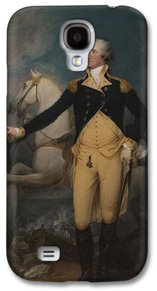 General George Washington At Trenton, 1792 Galaxy S4 Case by John Trumbull