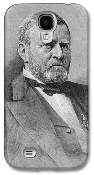General Ulysses Simpson Grant, Engraved From A Photograph, Illustration From Battles And Leaders Galaxy S4 Case