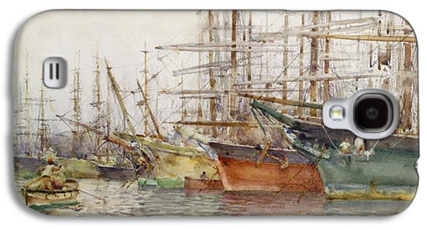 Genoa Harbour, 1904 Galaxy S4 Case