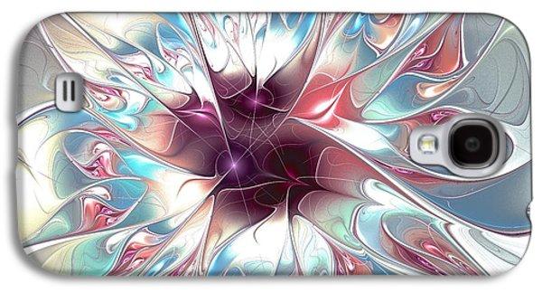 Gentle Touch Galaxy S4 Case by Anastasiya Malakhova
