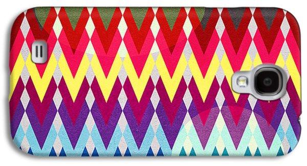 Geometric Colors  Galaxy S4 Case