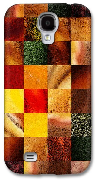 Geometric Design Squares Pattern Abstract II Galaxy S4 Case