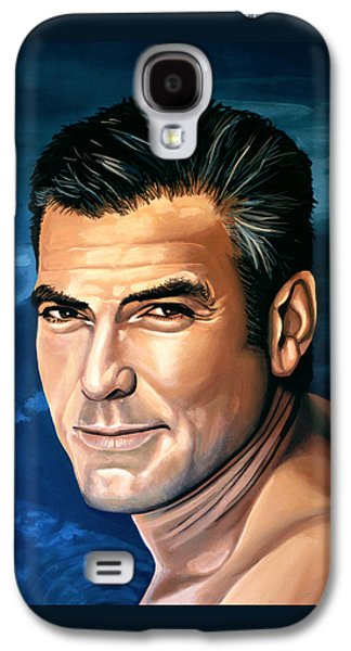 George Clooney 2 Galaxy S4 Case