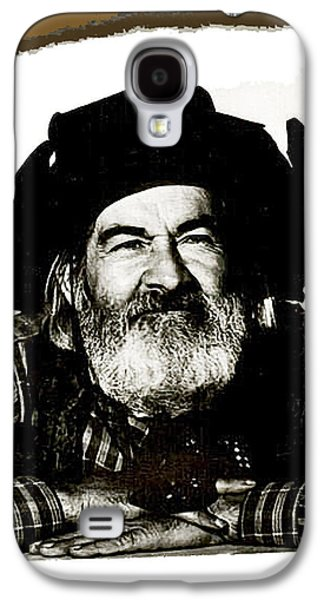 George Hayes Portrait #1 Card Galaxy S4 Case by David Lee Guss