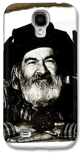 George Hayes Portrait #1 Card Galaxy S4 Case