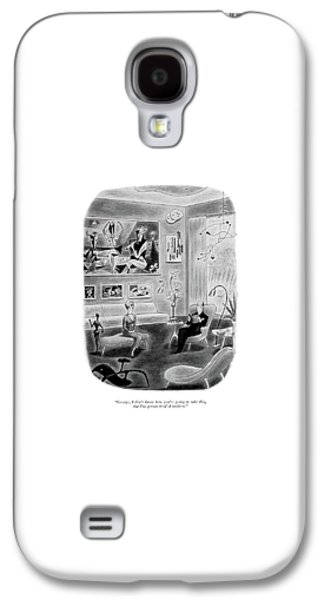 George, I Don't Know How You're Going To Take Galaxy S4 Case by Richard Taylor